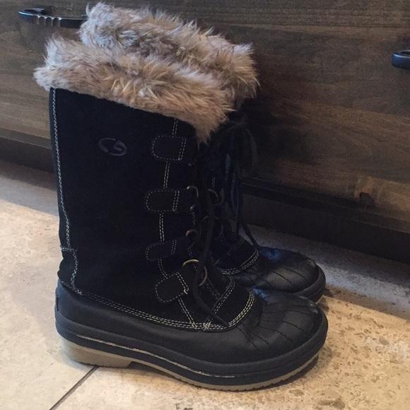 d96841a0a250c Champion Shoes - Champion C9 Fur Trim Snow Winter Boots 7  49!